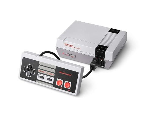 A Nintendo Entertainment System NES Classic Edition