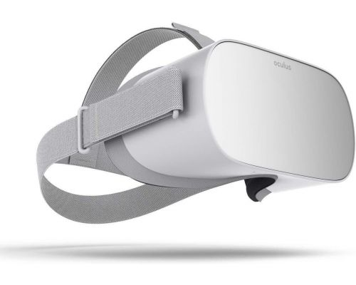 An Oculus Go Standalone Virtual Reality Headset