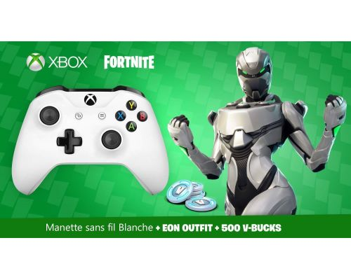 Un Pack Manette Xbox One sans fil Fortnite