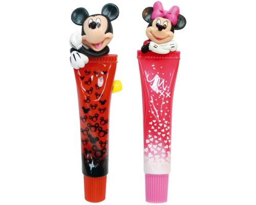 A Pair of Mickey Mouse and Minnie Ballpoint Pen Tubes
