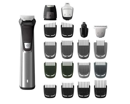 A Philips Norelco MG7750/49 Face Styler and Grooming Kit