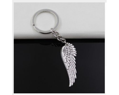 En Angel Wing Keychain