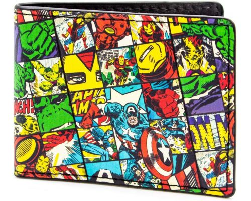 A Multicolored Marvel Wallet