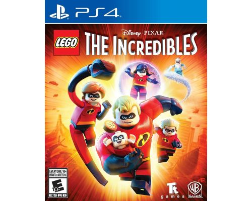 A PS4 Game LEGO The Incredibles