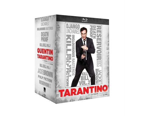 A Quentin Tarantino: The Ultimate Collection Blu-ray