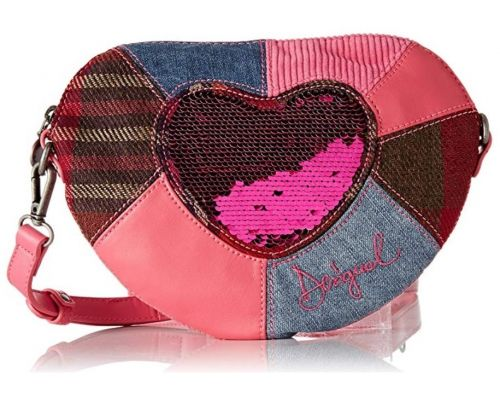 A Desigual Heart Shoulder Bag
