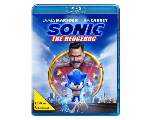 Ein Sonic the Hedgehog-Blu-ray