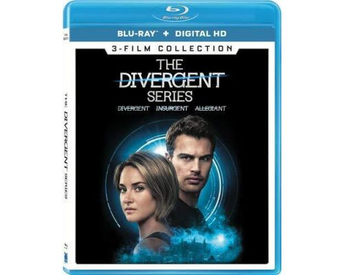 The Divergent Series: 3-Film Collection Blu-ray