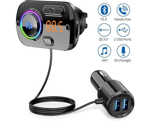 A Bluetooth 5.0 FM Transmitter
