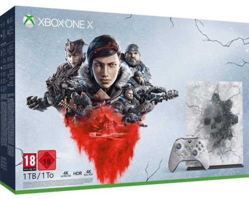 Een Xbox One X Limited Edition - Gears 5 Ultimate