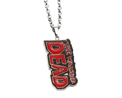 a Metal Chain at The Walking Dead Logo