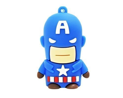 a Captain America 8GB USB Stick