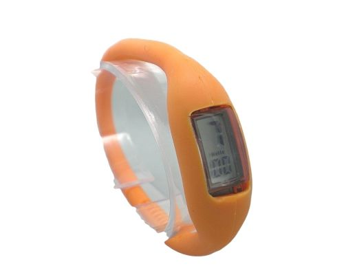 une Montre Bracelet Sport Orange