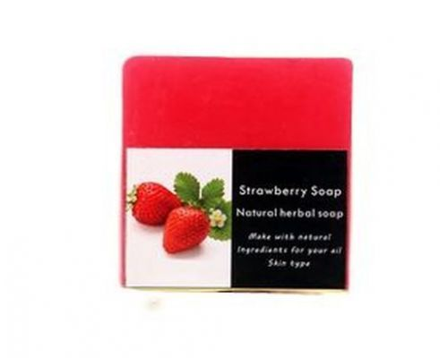a Natural Soap with Jasmine Strawberry