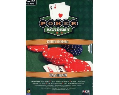 un Jeu PC Poker Academy Texas HoldEm